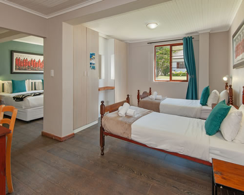 Baleens Hotel, Hermanus, Deluxe Family Room & sea view, Hermanus Accommodation, Hotels Hermanus