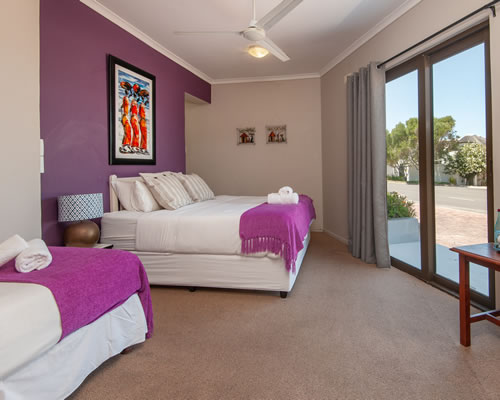 Baleens Hotel, Hermanus, Standard Room with double and single beds, Hermanus Accommodation, Hotels Hermanus
